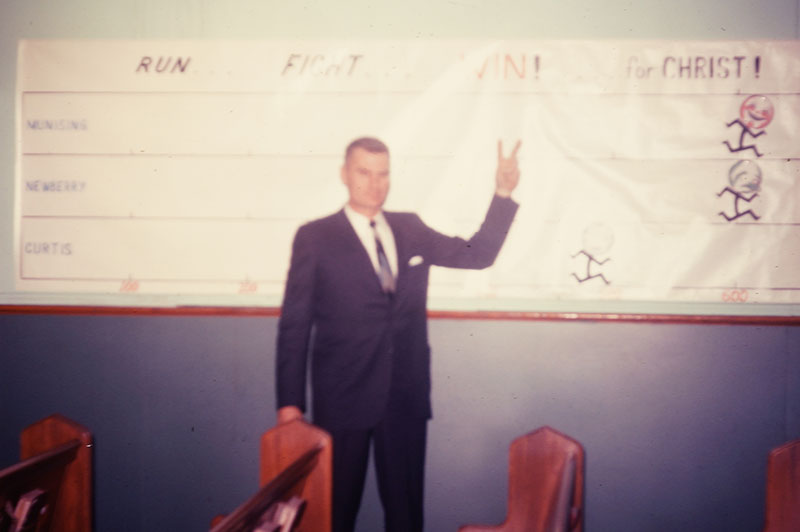 Arthur 'Bud' LaFlamme Victory Banner, Sunday School Competition